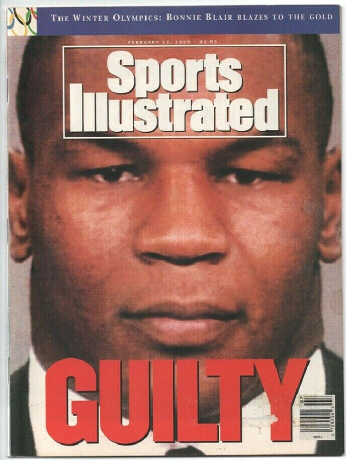 1992 Sports Illustrated Mike Tyson Ucla Bruins Atlanta Braves NBA All Star Game Olympics