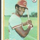 Cincinnati Reds Ken Griffey 1978 Topps Baseball Card 80 vg