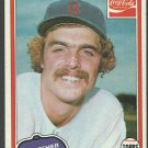 Boston Red Sox Frank Tanana 1981 Topps Coca Cola Coke Baseball Card 7 nr mt