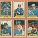 1982 Fleer Seattle Mariners Team Lot 18 diff Julio Cruz Bruce Bochte Tom Paciorek Richie Zisk