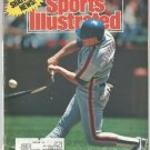 1989 Sports Illustrated Billings Mustangs Evander Holyfield Wooden Bats Are Doomed WBL