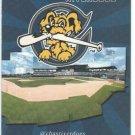 Charleston Riverdogs 2013 Pocket Schedule South Atlantic League SAL