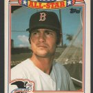 Boston Red Sox Carl Yastrzemski 1990 Topps Glossy All Star Insert Baseball Card 22