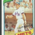 New York Mets Joel Youngblood 1980 Topps Baseball Card 372 nr mt