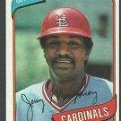 St Louis Cardinals Jerry Mumphrey 1980 Topps Baseball Card 378 nr mt