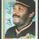 San Francisco Giants Vida Blue 1982 Topps Baseball Card 430 nr mt