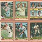 1976 Topps Chicago White Sox Team Lot Brian Downing Ralph Garr Jim Kaat Chet Lemon RC