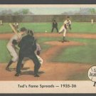 1959 Fleer Ted Williams 5 Ted's Fame Spreads em+ Boston Red Sox
