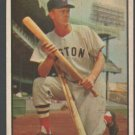 Boston Red Soz Walter Hoot Evers 1953 Bowman Color Baseball Card 25 vg/ex