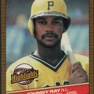 Pittsburgh Pirates Johnny Ray 1986 Donruss Highlights 9 Player of the Month nm