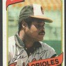 Baltimore Orioles Lee May 1980 Topps Baseball Card 490 nr mt