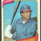Cleveland Indians Andre Thornton 1980 Topps Baseball Card 534 nr mt