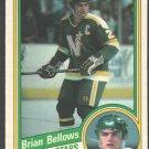 Minnesota North Stars Brian Bellows 1984 OPC O Pee Chee Hockey Card 95 nr mt
