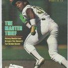 1982 Sports Illustrated Oakland Athletics Rickey Henderson Tampa Bay Bucs Los Angeles Raiders