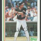 San Francisco Giants Jack Clark 1982 Topps Baseball Card 460 nr mt