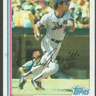 New York Mets Lee Mazzilli 1982 Topps Baseball Card 465 nr mt