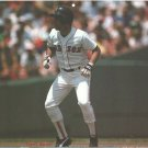 Boston Red Sox Marty Barrett Leading From Base 1987 Pinup Photo