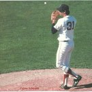 Boston Red Sox Calvin Schiraldi Closing The Game 1987 Pinup Photo