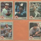 1983 1984 Fleer Baltimore Orioles Team Lot 23 dif Al Bumbry Ken Singleton Mike Flanagan Rick Dempsey