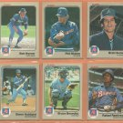 1983 1984 Fleer Atlanta Braves Team Lot 26 diff Phil Niekro Bob Horner Brett Butler Chris Chambliss