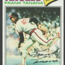 California Angels Frank Tanana 1977 Topps Baseball Card 200 vg