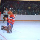 Montreal Canadiens Ken Dryden Kicking Out Another 12x11.5 Pinup Photo
