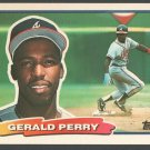 Atlanta Braves Gerald Perry 1988 Topps Big Baseball Card 40 nr mt