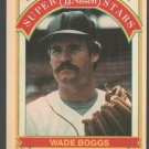 Boston Red Sox Wade Boggs 1989 Nissen Bread Baseball Card 2 nr mt
