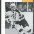Boston Bruins Ray Bourque Cover Photo on 1996 Cable TV Schedule Brochure