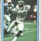 New York Jets Al Toon Running Through the Secondary 1991 Piup Photo 8x10