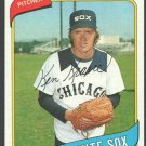 Chicago White Sox Ken Kravec 1980 Topps Baseball Card 575 nr mt