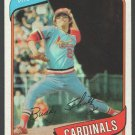 St Louis Cardinals Buddy Schultz 1980 Topps Baseball Card 601 nr mt