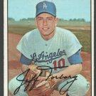 Los Angeles Dodgers Jeff Torborg 1967 Topps Baseball Card 398 em/nm