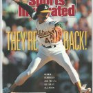 1990 Sports Illustrated Oakland Athletics Cincinnati Reds Cleveland Browns Niners New York Knicks