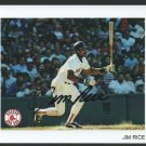 Boston Red Sox Jim Rice Autograph Signed Photo Team Issue 4x6