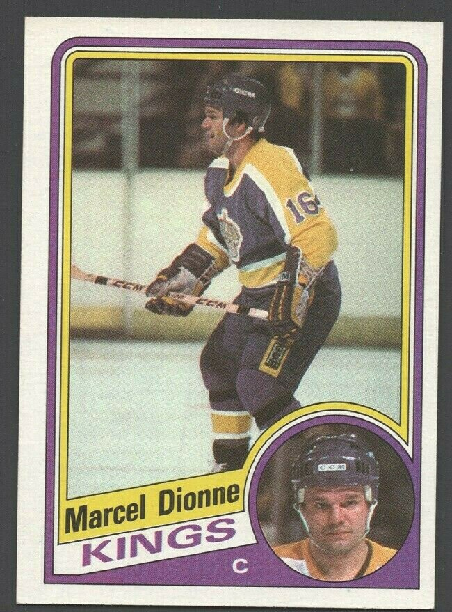 Los Angeles Kings Marcel Dionne 1984 Topps Hockey Card 64 nr mt