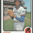 Chicago Cubs Fergie Jenkins 1973 Topps Baseball Card 180 nr mt