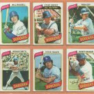 1980 Topps Los Angeles Dodgers Team Lot 25 Steve Garvey Ron Cey Bill Russell Steve Yeager Bob Welch