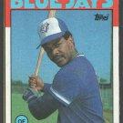 Toronto Blue Jays Jorge Bell 1986 Topps Box Bottom Card # A