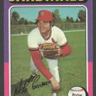 St Louis Cardinals Mike Garman 1975 Topps Baseball Card 584 ex