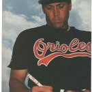 Baltimore Orioles Cal Ripken Signing An Autograph 1995 Pinup Photo 8x10