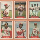 1982 Fleer Cincinnati Reds Team Lot 21 diff Tom Seaver Ken Griffey George Dave Collins