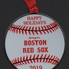 2019 Boston Red Sox Team Issued Limited Edition Christmas Ornament