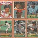 1984 Donruss Boston Red Sox Team Lot 25 Carl Yastrzemski Wade Boggs Dennis Eckersley Jim Rice