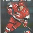 Carolina Hurricanes 2012 2013 Yearbook