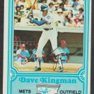 Chicago Cubs Dave Kingman 1981 Drakes Big Hitters Baseball Card 19 nr mt
