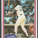 New York Yankees Willie Randolph 1981 Topps Baseball Card 60 nr mt