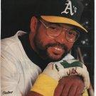 Oakland Athletics Reggie Jackson 1989 Pinup Photo 8x10