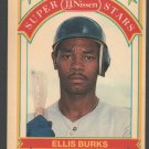 Boston Red Sox Ellis Burks 1989 Nissen Baseball Card #3 nm