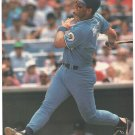 Kansas City Royals George Brett Hitting A Long One 1989 Pinup Photo 8X10